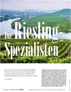Weinjournal Nr. 60 Die Rieslingspezialisten