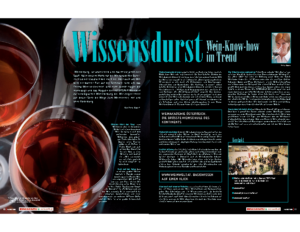 Weinjournal Nr. 32 Wissensdurst