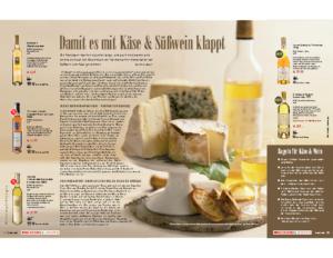 Weinjournal Nr. 33 Süsswein und Käse