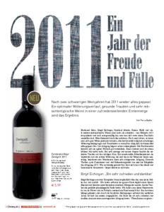 Weinjournal Nr. 46 Jahrgang 2011