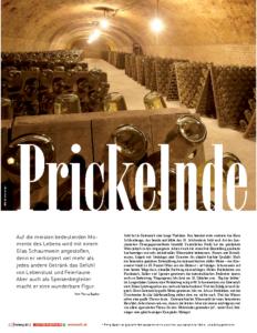 Weinjournal Nr. 46 Prickelnde Freude