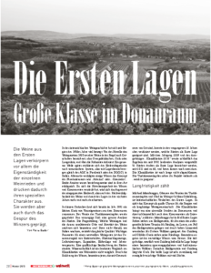 Weinjournal Nr. 53 Erste Lagen