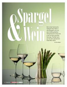 Weinjournal Nr. 54 Spargel & Wein