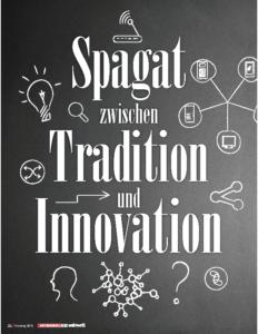 Weinjournal Nr. 58 Spagat zwischen Tradition und Innovation