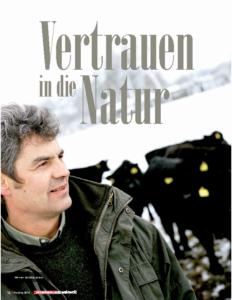 Weinjournal Nr. 58 Vertrauen in die Natur