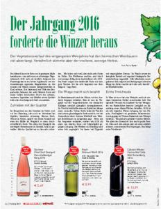 Weinjournal Nr. 65 Jahrgang 2016