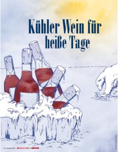 Weinjournal Nr. 66 Kühler Wein für heiße Tage